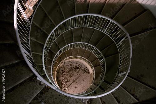Fototapety, obrazy: Spiral staircase