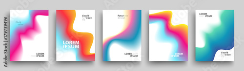 Modern Covers Template Design Fototapete
