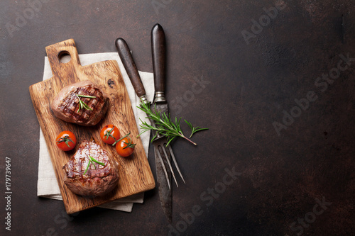 Fotografia, Obraz Grilled fillet steak