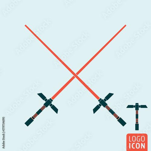 Photo  Light sword icon