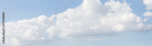 Sky background with clouds . Sky with clouds. Panorama of clouds