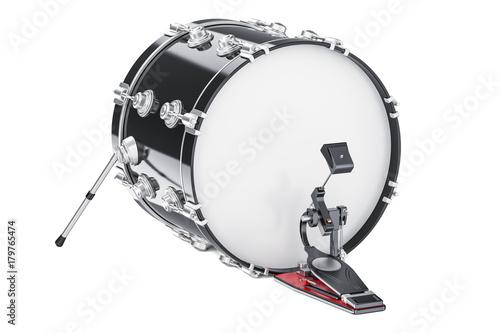 Fotografía  Bass Drum, 3D rendering