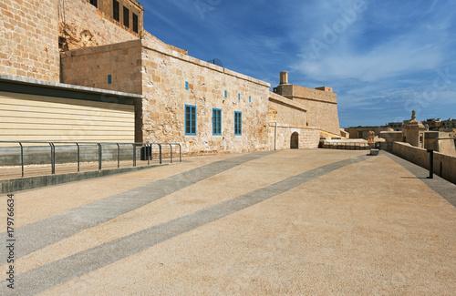Tuinposter Vestingwerk Fort Saint Angelo (Malta)