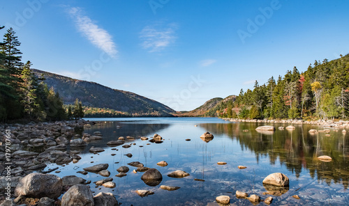 Jordan Pond, Acadia National Park, Maine, USA Wallpaper Mural
