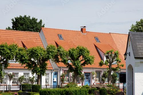Photo  Impressionen aus der Fischersiedlung Schleswig-Holm in Schleswig-Holstein