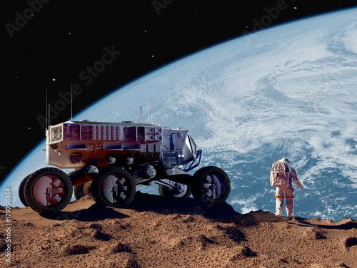 Keuken foto achterwand Nasa Space transport