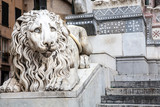 Lion Statue, Cathedral, Genoa