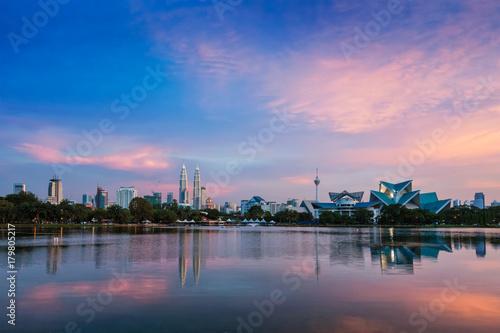 Foto auf Acrylglas Kuala Lumpur Kuala Lumpur skyline