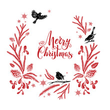 Merry Christmas Holiday Design