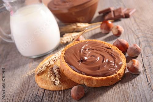 Fotografia chocolate spread