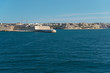 Fort Ricasoli and city Kalkara (Malta)