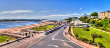 The Seafront, Exmouth, Devon, UK