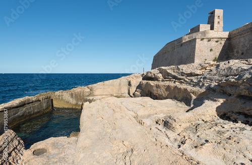 Papiers peints Fortification Fort Saint Elmo (Malta)