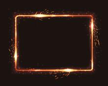 Realistic Square Light Fire Fl...