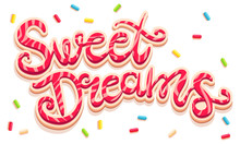 Sweet Dreams Lettering