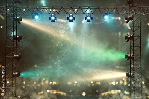 Zdjęcie XXL Scena z pokazem światła