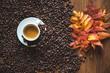 Espresso with leaf 6