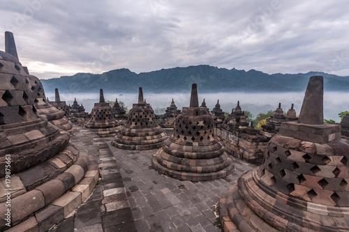 Foto op Aluminium Indonesië Ancient ruin