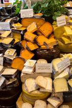 Cheese At A Market
