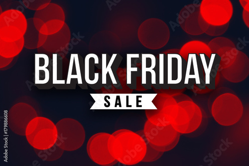special black friday sale text over red duotone christmas lights horizontal - Black Friday Christmas Lights
