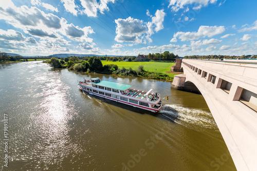 Minden, Weser, Wasserstraßenkreuz