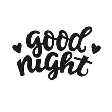Good Night - Greeting Handdraw...
