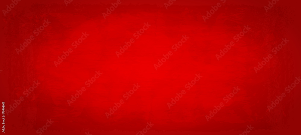 Fototapeta Hintergrund Farbfläche mit Textur - rot