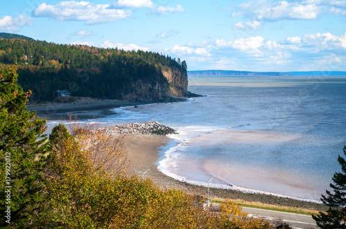 Photo Chignecto Bay at Alma New Brunswick