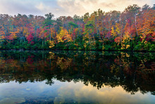 Fall Across DeSoto Lake