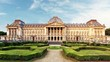 Royal Palace in Brussels in summer day, Belgium