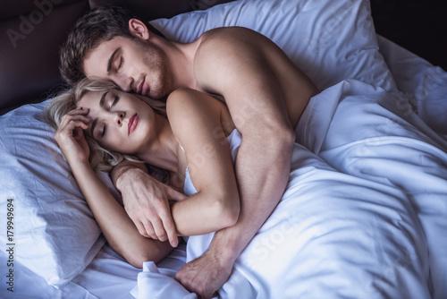 Fotografía  Couple in bed