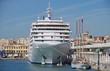 Silver Spirit im Hafen von Malaga