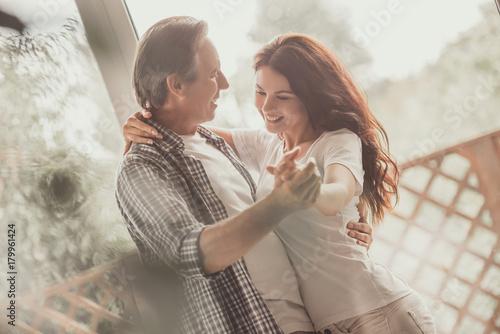 Photo  Happy mature couple