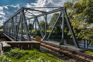Kołobrzeg. Most kolejowy