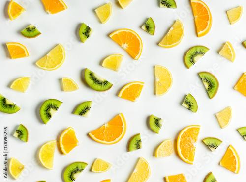 Poster Fruit Fruits pattern