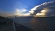 Bay Ridge Sunset Over Verrazano Bridge
