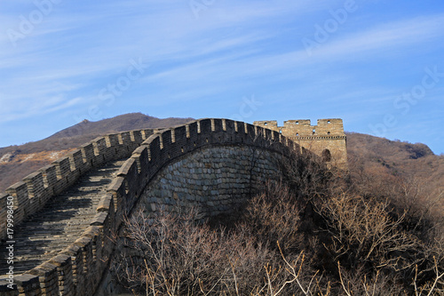 Papiers peints Muraille de Chine The Mutianyu section of the Great Wall of China