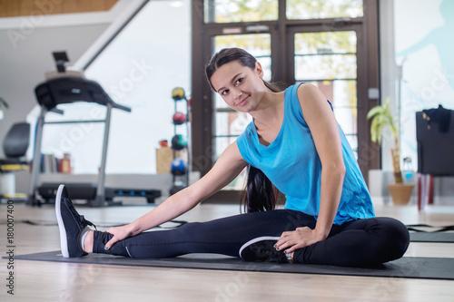 Fotografie, Obraz  Woman Stretching