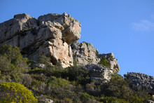 Mountain Rock Outcrop