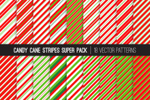 Pack Of Christmas Candy Cane S...