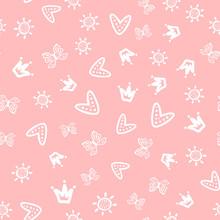 Sun, Butterflies, Hearts And C...