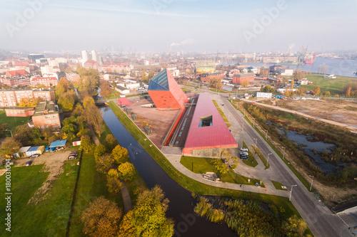 Obraz na dibondzie (fotoboard) Muzeum II Wojny Światowej w Gdańsku