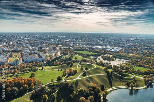 In de dag Verenigde Staten Birdview Munich