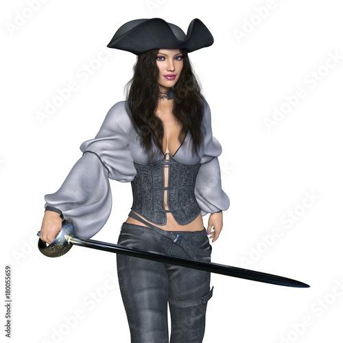 Photo 女性海賊