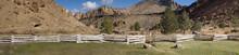 Split Rail Fence And Jagged Pe...