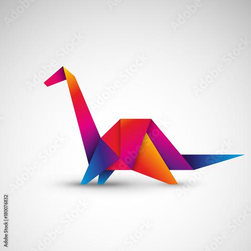 dinozaur-z-origami