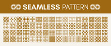 Seamless Pattern. Geometric Background. Vector Illustration.