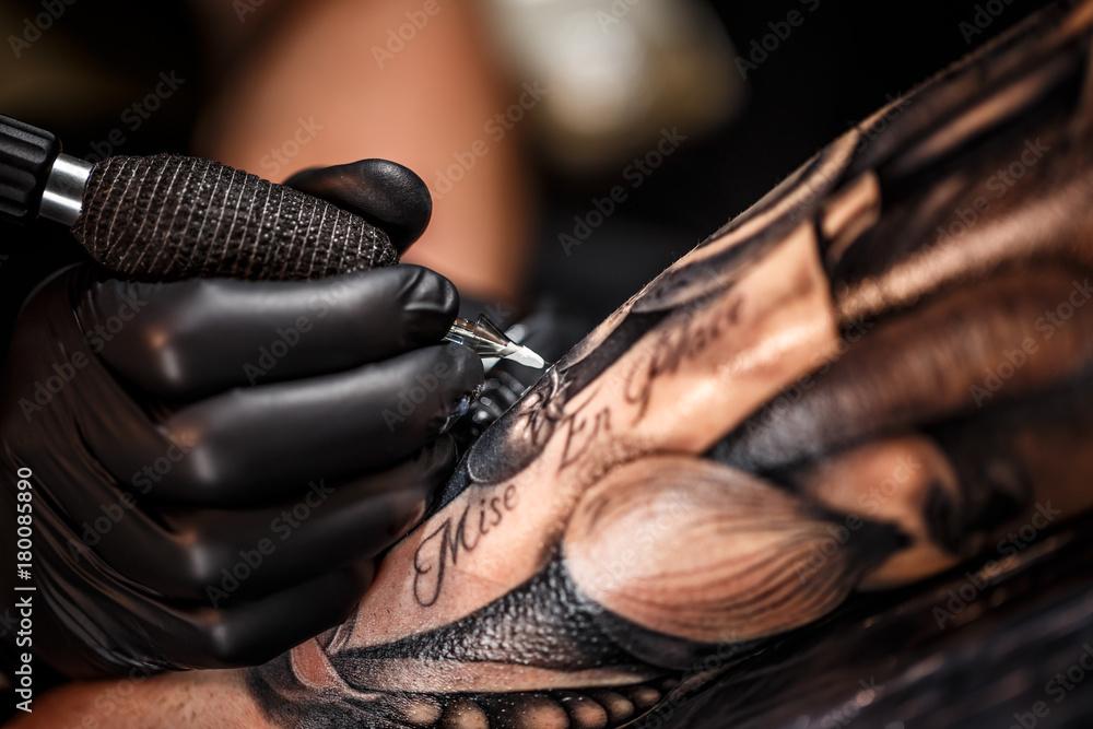 Fototapety, obrazy: Professional tattoo artist