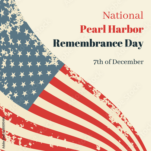 Photo  National Pearl Harbor Remembrance Day in USA