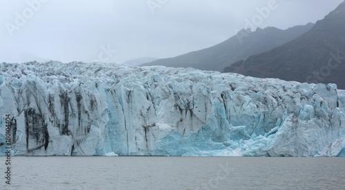 Staande foto Gletsjers The Fjallsarlon glacier lake in summer, Iceland